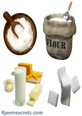 لنجاح جهود الرجيم وانقاص الوزن استغنوا عن السموم البيضاء الاربعة